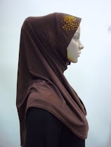 Tudung Permata Plain