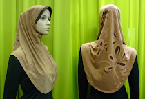 Tudung Lycra Plain Batik (L Size)