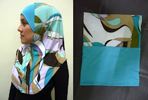 Tudung Syria Corak Exclusive NANI