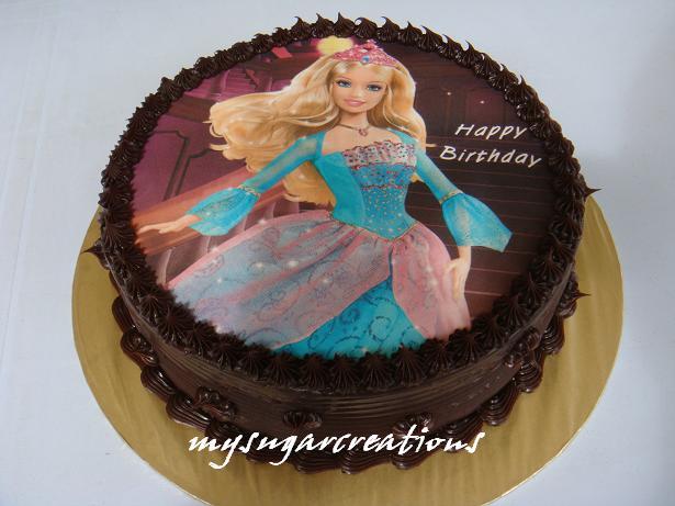 Barbie Chocolate Cake Images : My Sugar Creations (001943746-M): November 2009