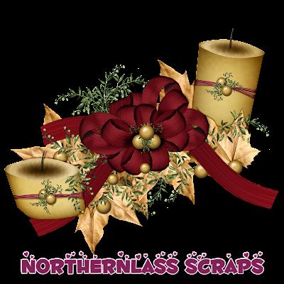 http://nothernlassscraps.blogspot.com/2009/12/freebie-candle-decoration.html