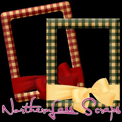 http://nothernlassscraps.blogspot.com/2009/12/free-felt-gingham-frames.html
