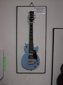 Guitarra modelo Gibson Les Paul