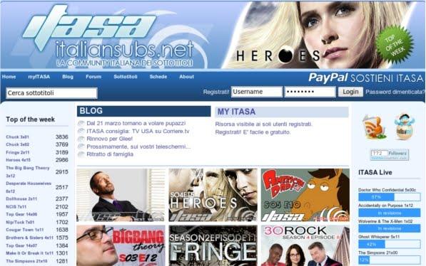 serie di telefilm siti per fare sesso gratis