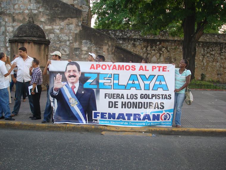 REPUDIAMOS EL GOLPE DE ESTADO EN HONDURAS