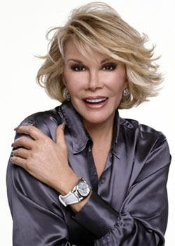 Joan Rivers GOES POSTAL on