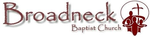 Reflections from Broadneck Baptist