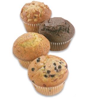 com hacer muffins variedad