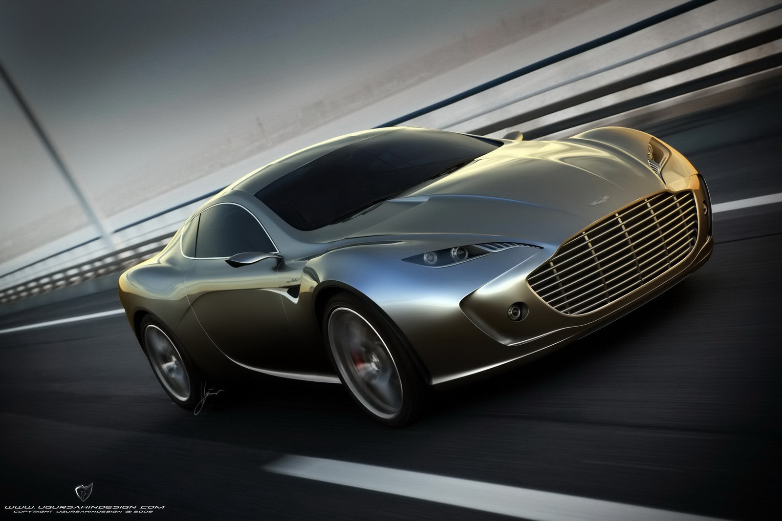 World Concept Cars Aston Martin Gauntlet Design Concept