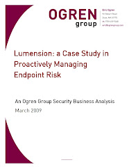 Sample Ogren Group Security Business Analysis
