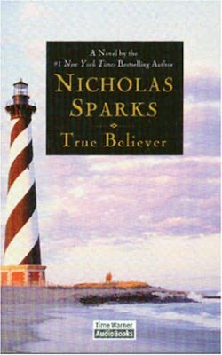 reviews by me book review true believer by nicholas sparks