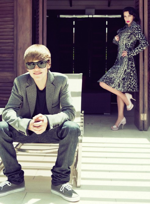Stylelab Kim Kardashian X Justin Bieber For Elle