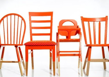 Be DifferentAct Normal: Mismatched Dinning Room Chairs