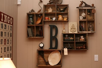 Wall Shelves Decorating Ideas on She Used Them As Shelves  Inspired By Pottery Barn