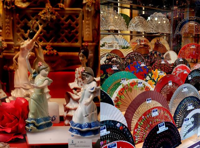La foresta incantata nel cuore di siviglia flamenco for Ventagli spagnoli in legno