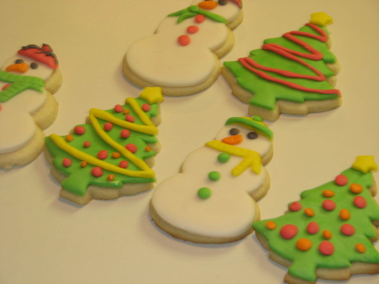 Gotta Love The Cupcakes Fondant Christmas Cookies