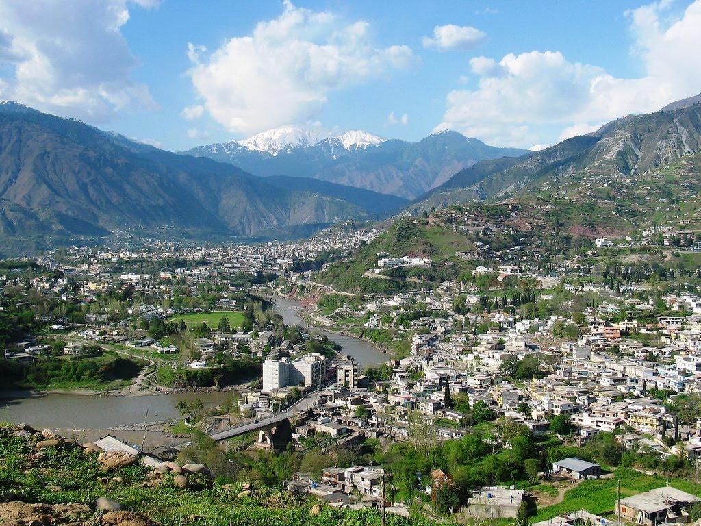 Muzaffarabad Capital City Of Azad Kashmir Tour To Pakistan