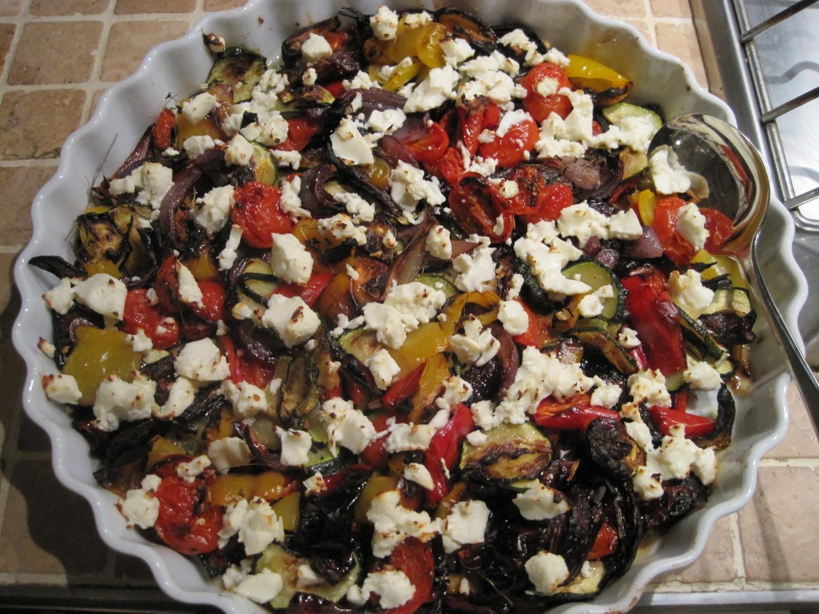 grønsager i ovn