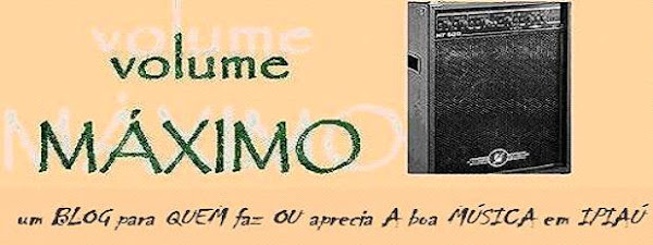 BLOG volume MÁXIMO