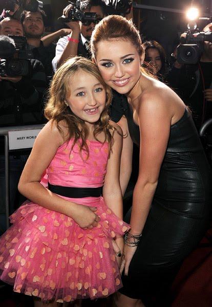 Miley y se hermana, Noah Cyrus