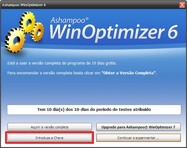 promoção win optimizer