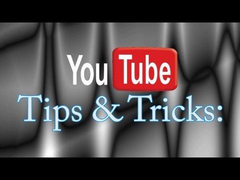 Truques e dicas youtube