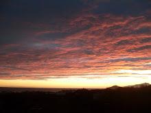 tramonti...quel che vedo dal mio balcone..
