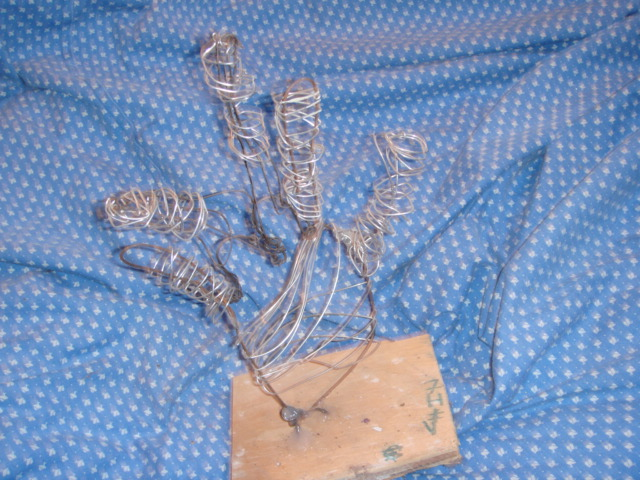 Mosaic Academy-Student Art Samples: Sculpture: Wire, Tooth pick ...