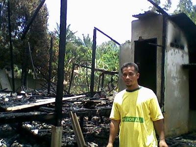 gambar-gambar rumah on ... Sebelum Terbenam: Gambar Gambar Kebakaran Rumah Engku Nurzaman