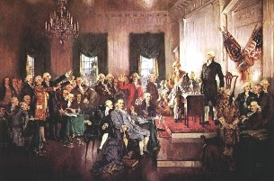 Signing+of+the+Constitution