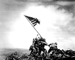 u.s. marines iwo jima flag