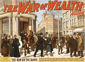Panic+of+1893+Broadway+War+of+Wealth+run+on+bank+poster