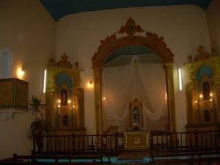 Interior da Igreja Nossa Sra. da Luz