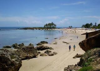 A praia das Baladas