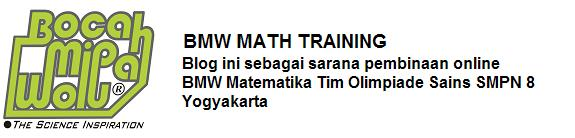 BMW MATH TRAINING