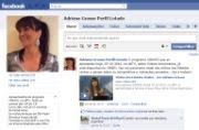 Adriana no Facebook