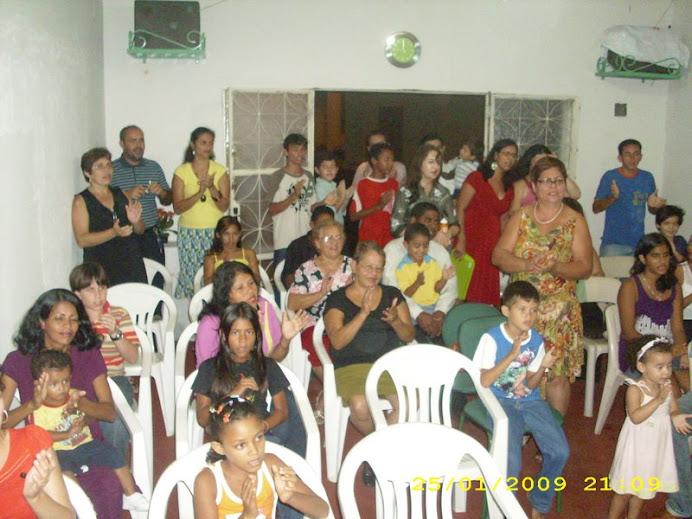 O niver do Pr. Marcos Alencar