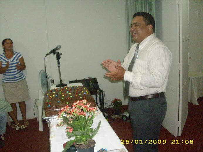 Aniversário do Pr. Marcos