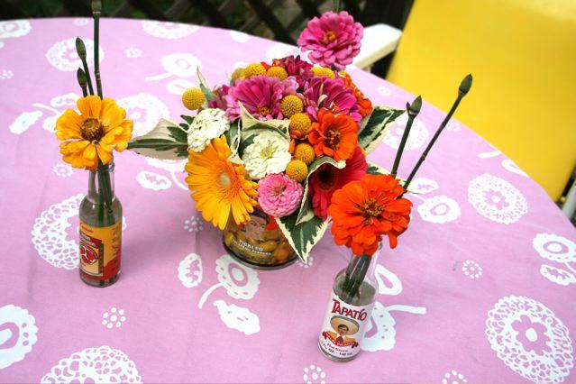 Blooms Blog: Mexican Resort Centerpieces