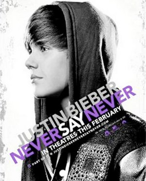 Justin Bieber    Movie on As Many Of You May Know Justin Bieber S 3d Movie Never Say Never Is