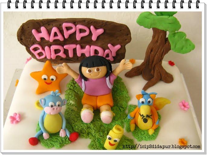dora explorer birthday cakes birthday cakes