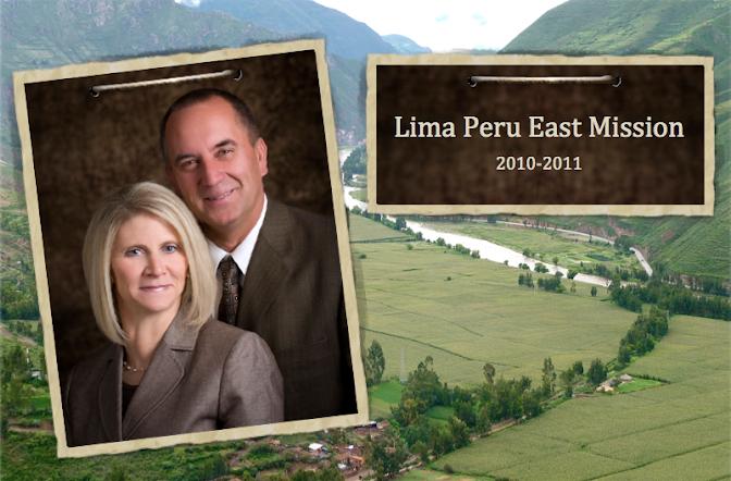Lima, Perú East Mission