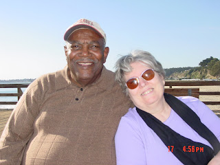 Lloyd and Jan, Seacliff Beach, CA, Oct 2005