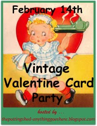 Vintage Valentine Card Party