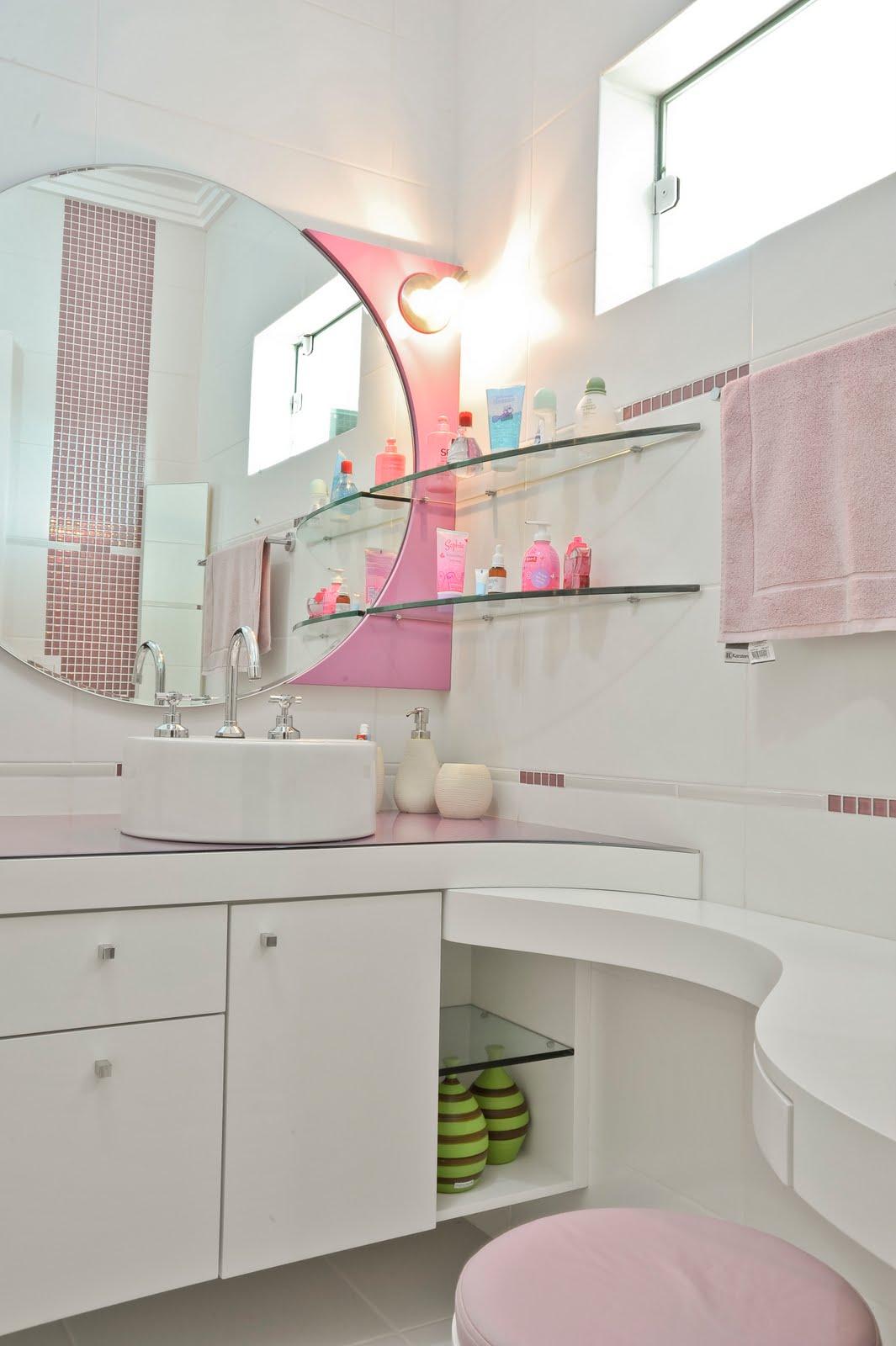 LONGO+HEINECK arquitetura e interiores -> Pia De Banheiro Rosa