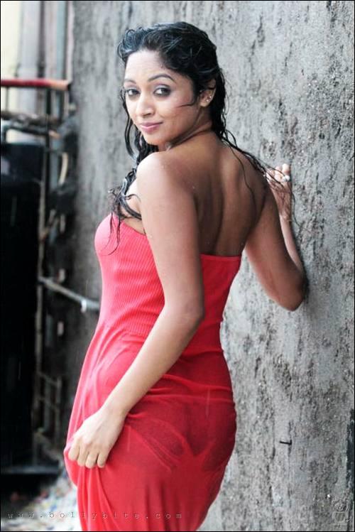 Actress Panty Line