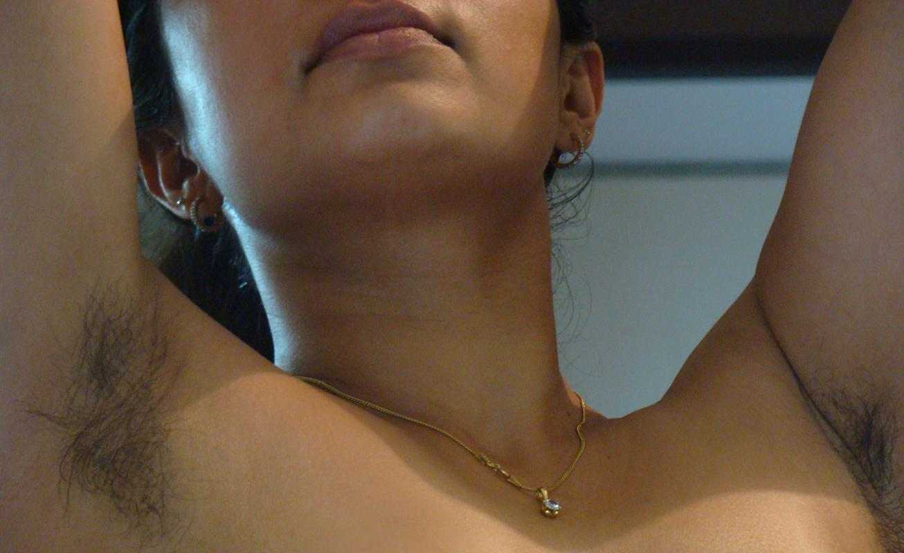 Indian Hairy Armpits Girl