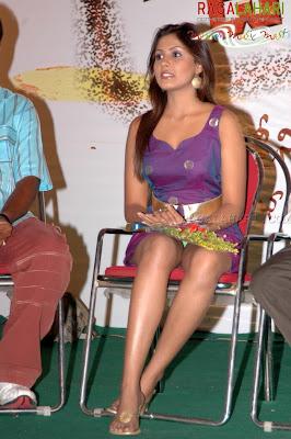 madhushalini panty show