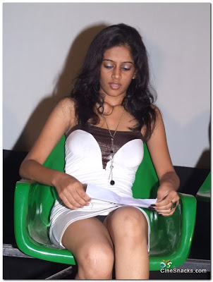 black panty in green chair
