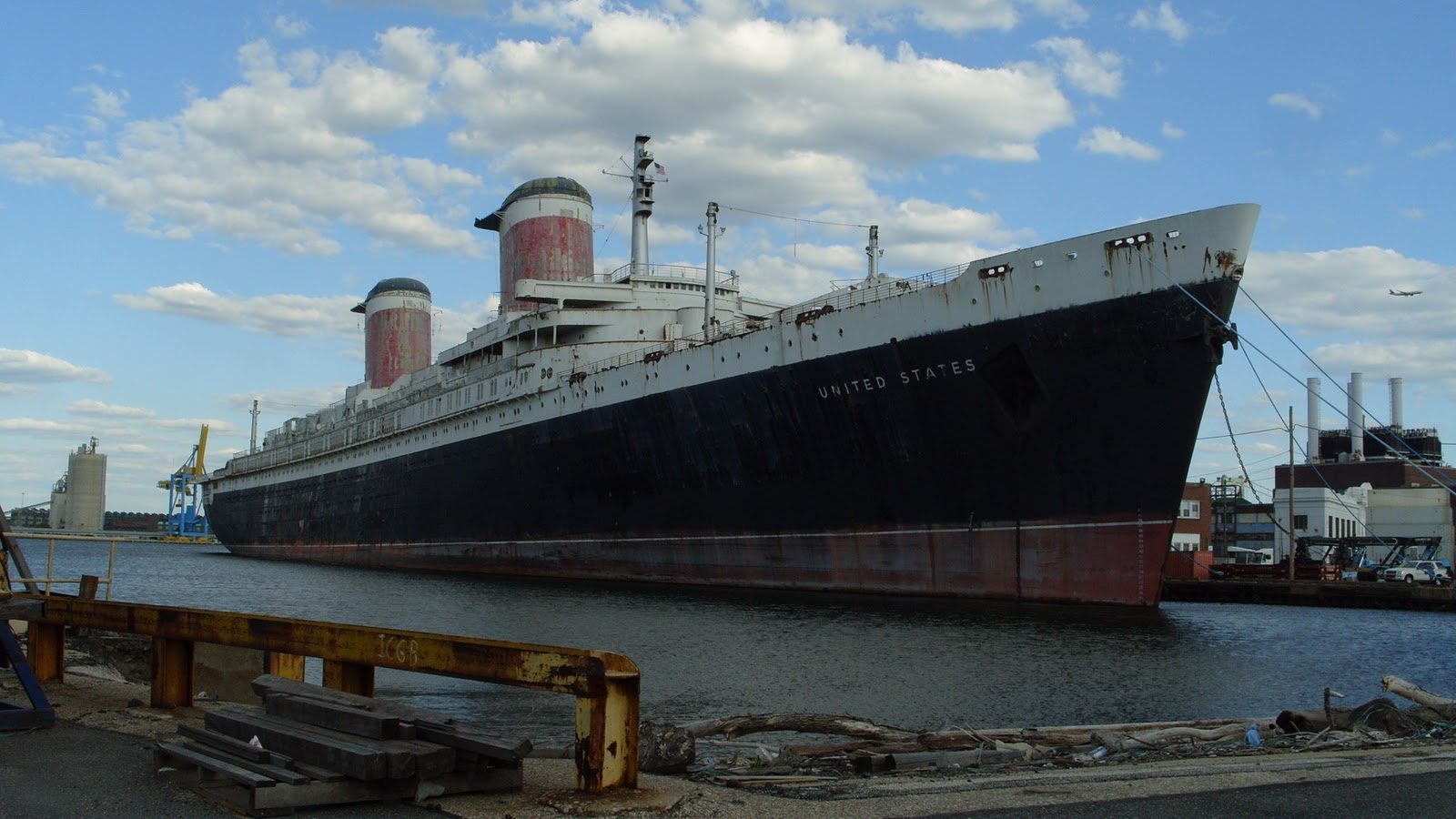 Ss united states - the liner and manhattan